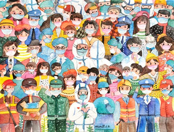 10广东--汪燕敏--广州市白云区黄边小学、《万众一心》 13760870411.jpg