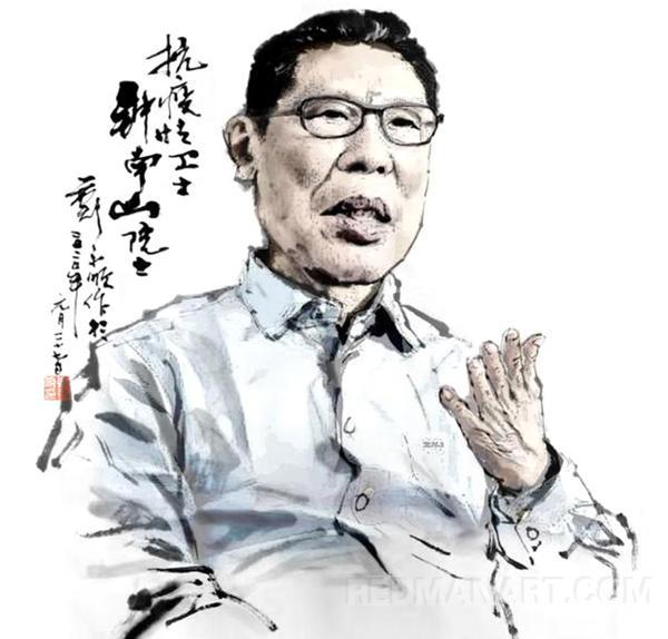 23黑龙江--郑永顺--钟南山漫像.jpg