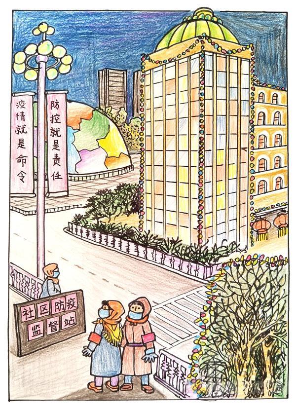 25辽宁--朱庆宝--霓虹灯下的哨兵.jpg
