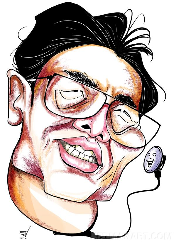 0--INDIA--Venkatesh Jakkula--Caricature of Nanshan Zhong.jpg