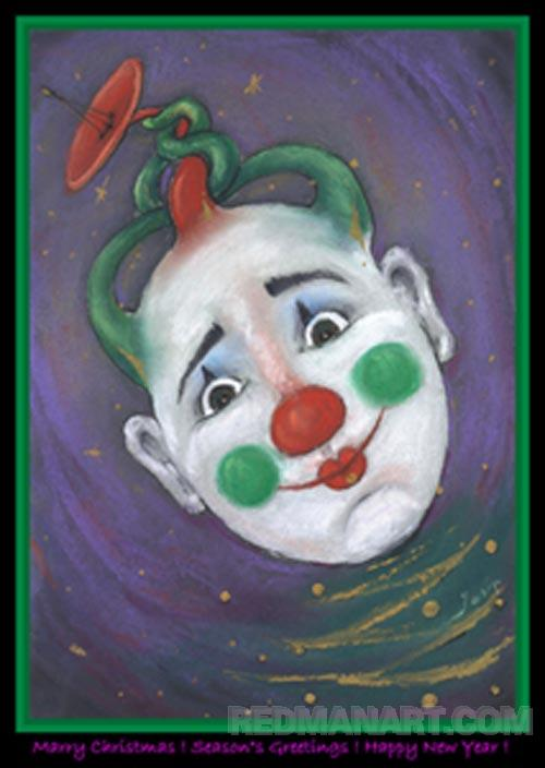2011 Clown -Marry Christmas!.jpg